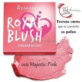 6 Uds x RIMMEL ROYAL BLUSH COLORETE - 1 TONO