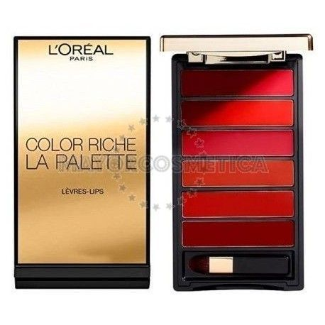 3 Uds x L'OREAL COLOR RICHE PALETA PINTALABIOS - RED
