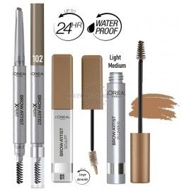 7 Uds x L'OREAL MIX BROW ARTIST PRODUCTOS CEJAS - RUBIAS