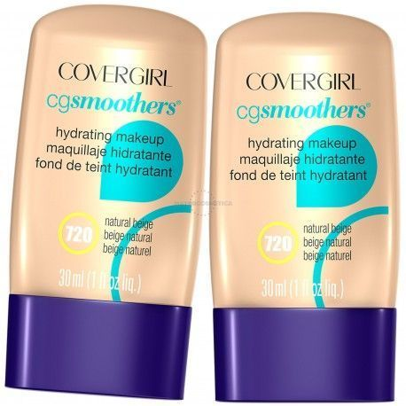 6 Uds x COVERGIRL SMOOTHERS MAQUILLAJE HIDRATANTE - 1 TONO