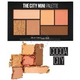 3 Uds x MAYBELLINE THE CITY MINI PALETA SOMBRAS - COCOA CITY