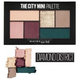 3 Uds x MAYBELLINE THE CITY MINI PALETA SOMBRAS - DIAMOND DISTRICT