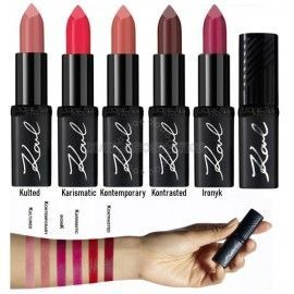 5 Uds x L'OREAL COLOR RICHE KARL LAGERFELD PINTALABIOS - 5 TONOS