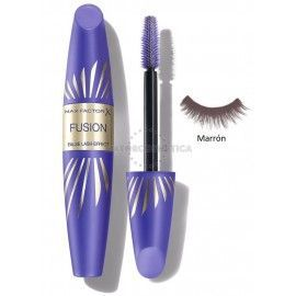 7 Uds x MAX FACTOR FALSE LASH FUSION MASCARA - MARRON