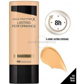 6 Uds x MAX FACTOR LASTING PERFORMANCE MAQUILLAJE - 1 TONO