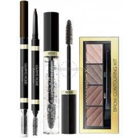 2 Uds x MAX FACTOR SET PRODUCTOS CEJAS - DEEP BROWN
