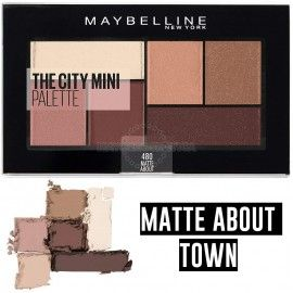 3 Uds x MAYBELLINE THE CITY MINI PALETA SOMBRAS - MATTE ABOUT TOWN