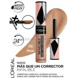6 Uds x L'OREAL INFALLIBLE MORE THAN CONCEALER MULTI USO - 1 TONO
