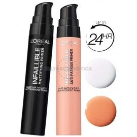 8 uds x L'OREAL INFALLIBLE MIX PRIMER/PREBASE MAQUILLAJE - MATIFICANTE